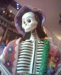Dia de los muertos altar at Crazy Homies