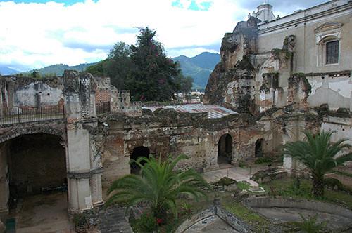 La Antigua  - 09 Ruins at San Francisco Cathedral