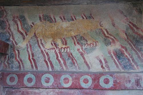 Teotihuacan - 18 - Mural of the Puma