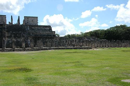 Chichen Itza - 12 - Temple of the Warriors