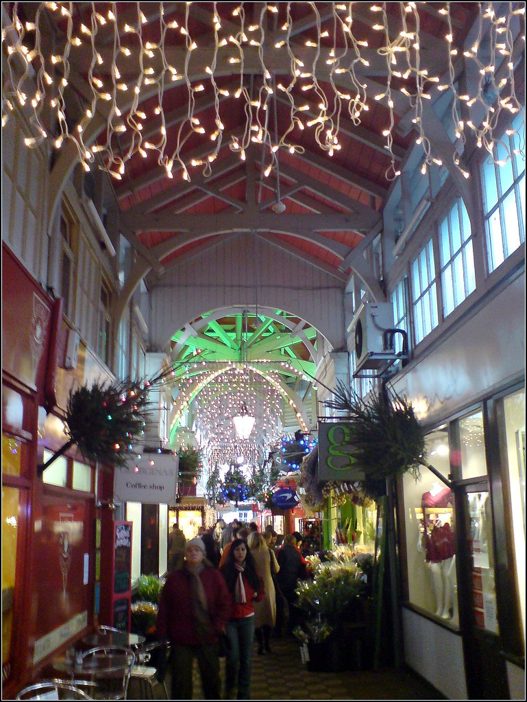 Oxford covered market at Christmas