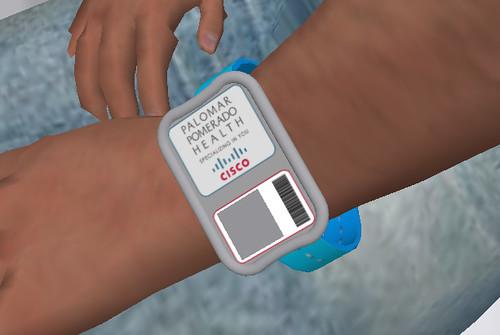 PalomarWest Hospital RFID Wrist Band