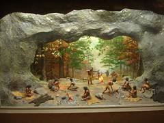 Diorama from Museum in Moundville AL