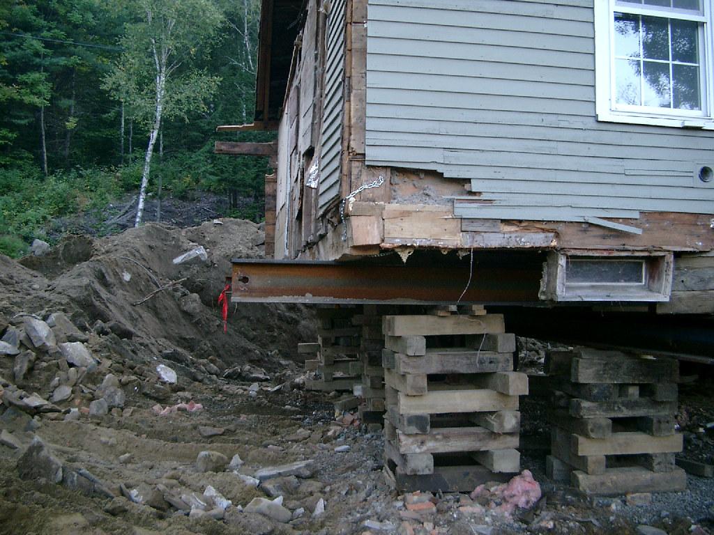Foundation Gone - Ell Corner