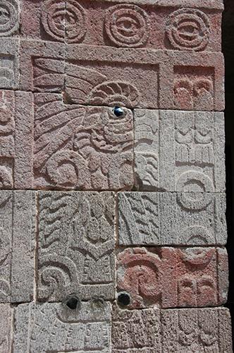 Teotihuacan - 20 - Quetzal-papalotl