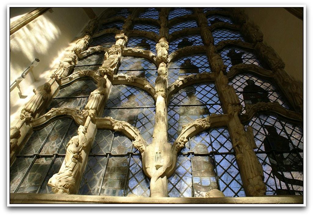 Dorchester Abbey Jesse window