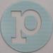 coloured card disc</p> <p> letter p