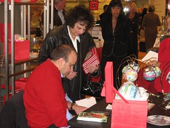 Michael Storrings Ornament Signing