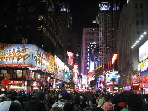 Año nuevo en la multitud 1
