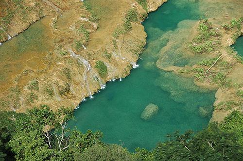 Semuc Champey - 06 Crystal Clear water of Semuc