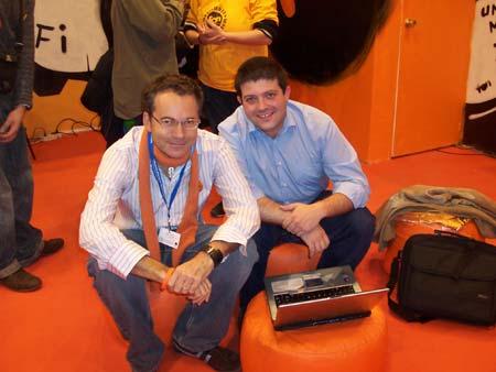 Martin Varsavsky con Jasp