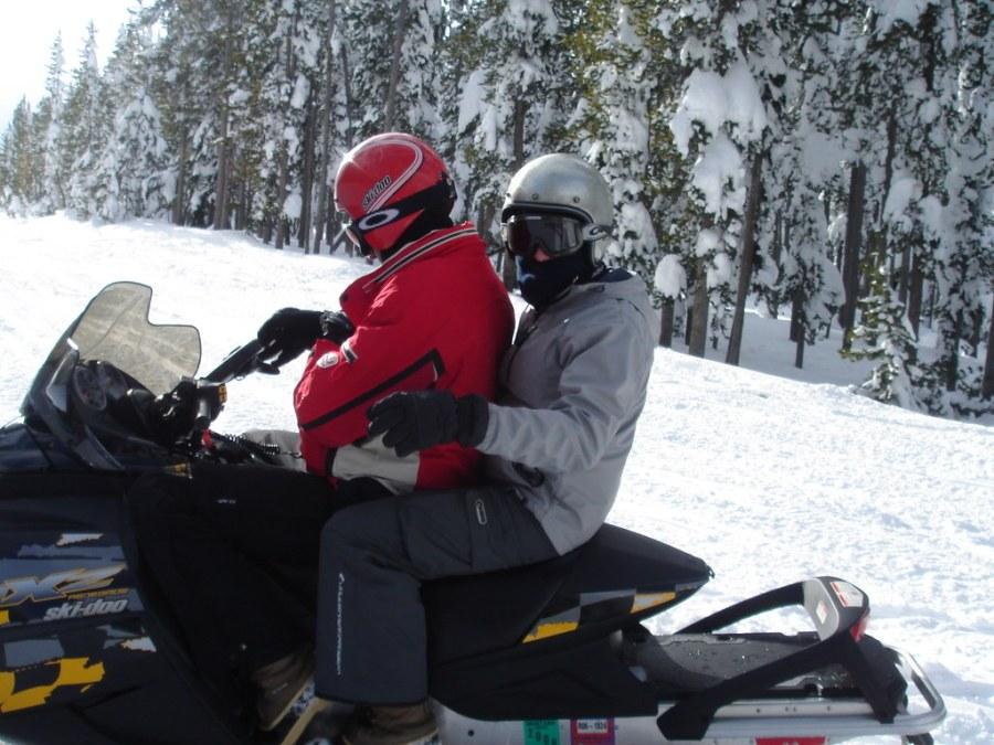 Brokeback Snowmobiling
