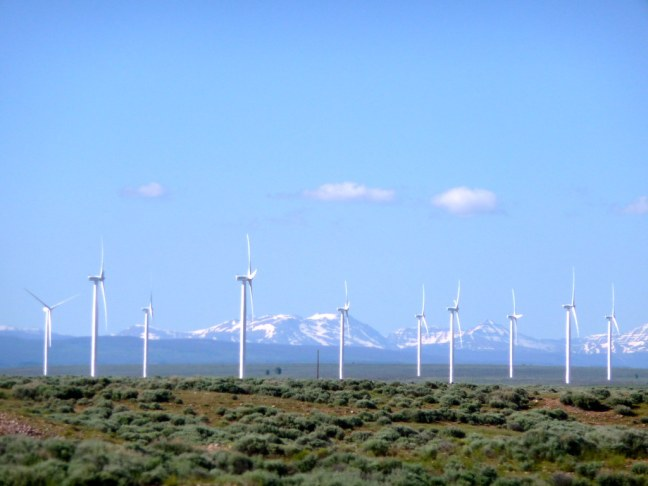 Wind Farm in Utah