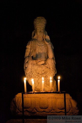 Ancient Guanyin statue