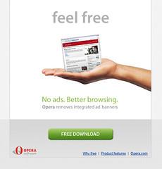 Opera goes free...er!