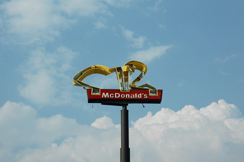 McDonald's, photo by Zoe Strauss