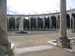 Image of fake Roman ruins at Versailles