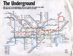 JockeySlut London Underground Musical Map 2