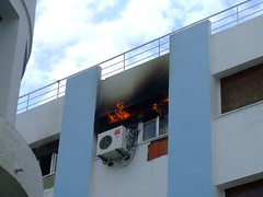 tourism office fire lafayette firemen