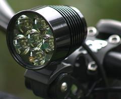 DiNotte 1200L Headlight Installed