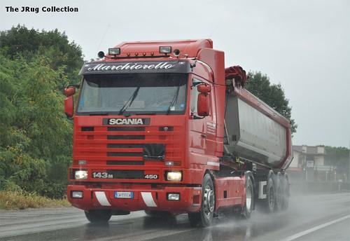 SCANIA 143M450