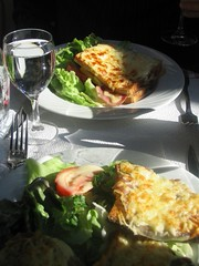 Image of our first Parisian meal