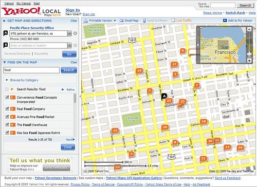 New Yahoo! Maps!
