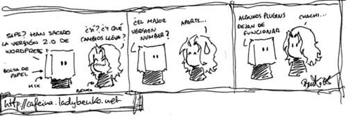 Tira WP Comic
