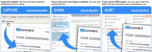 coComment: Track your blog comments everywhere