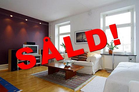 Lägenheten såld! :-)