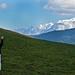 Mom & Mont Blanc