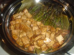 Sweet and Sour Tofu with Asparagus