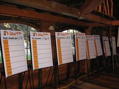 Blank Agendas at Pooh Camp