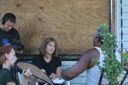 Naomi Klien interviews Malik