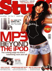Stuff Magazine cover