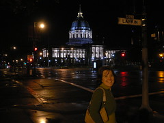 Julia's first nite in San Fran