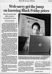 Black Friday article - Buffalo News / Part 1