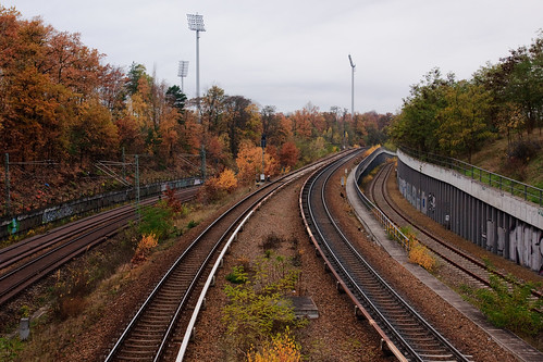 S-Bahn railway