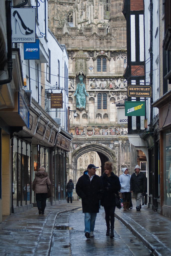 Christ Church Gate | Mercery Lane | Canterbury