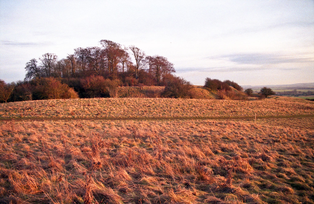 Castle Hill   Wittenham Clumps