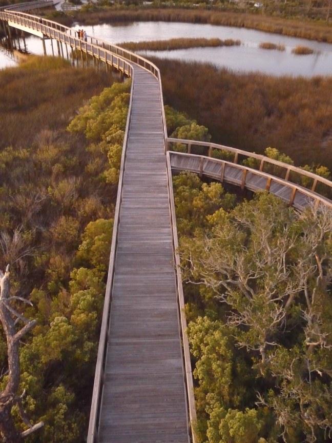 Big Lagoon State Park in Perdido Key, Florida