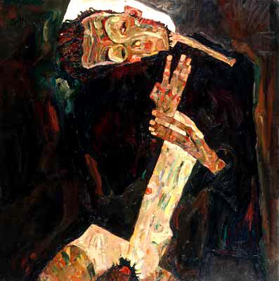 Egon Schiele, The Poet, 1911