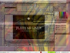 Flash e transparencias XDirectFB