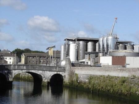 Destilería en Cork
