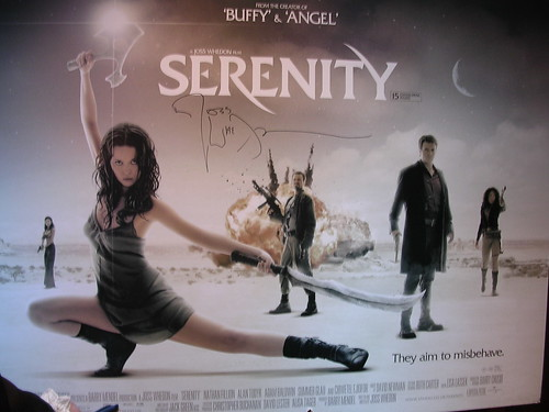 Serenity now in theaters