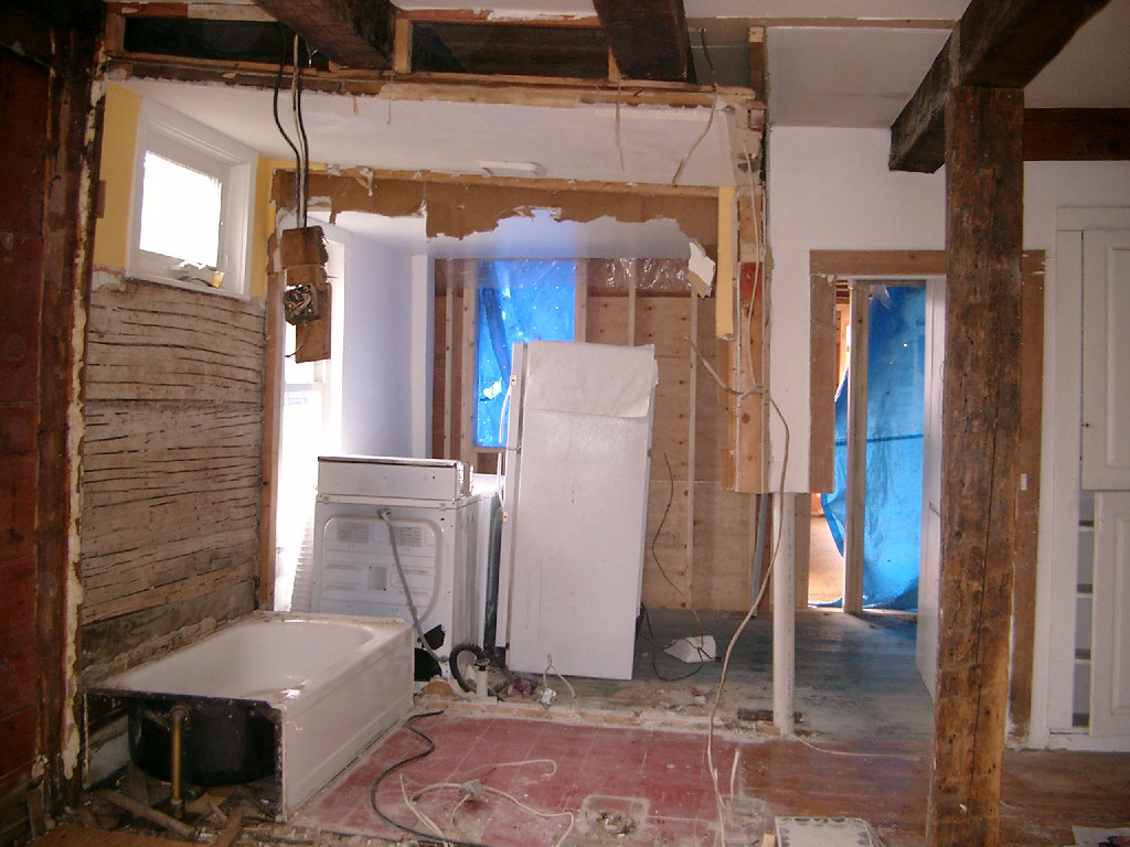 Kitchen Walls Gone - 2