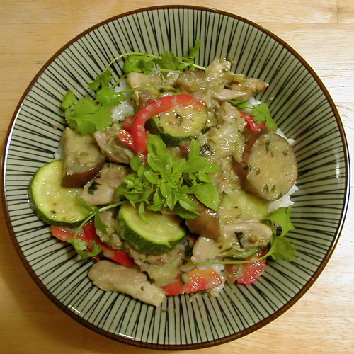 Pseudo-Thai Green Curry
