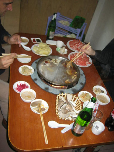 Hot Pot Before