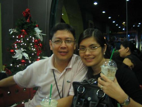 At Starbucks Alabang