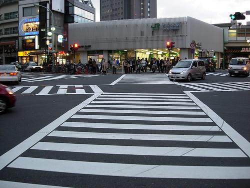 paso de cebra con forma de cruz kirai un geek en jap n
